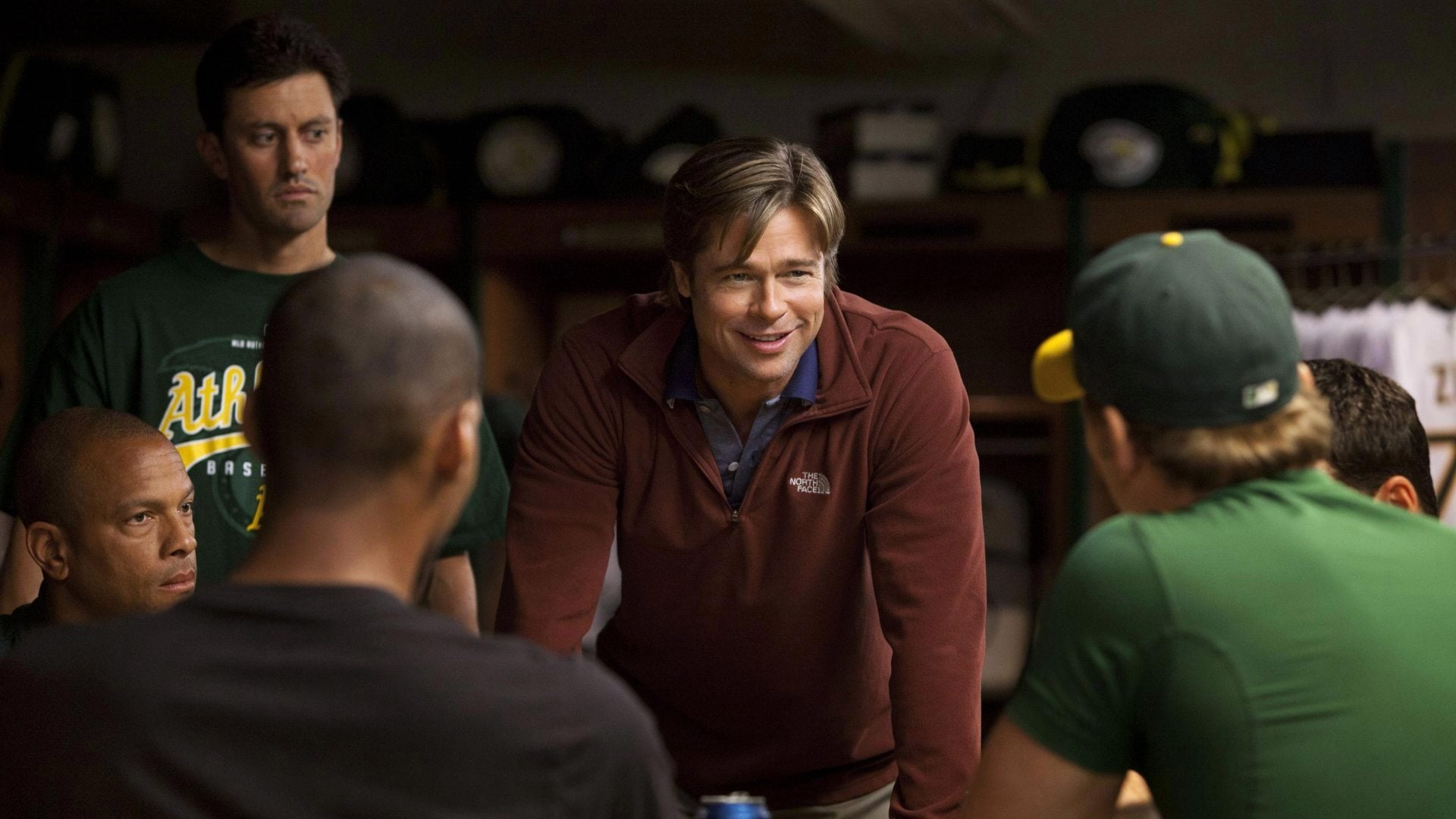 Brad Pitt explains the importance of analytics in Moneyball.