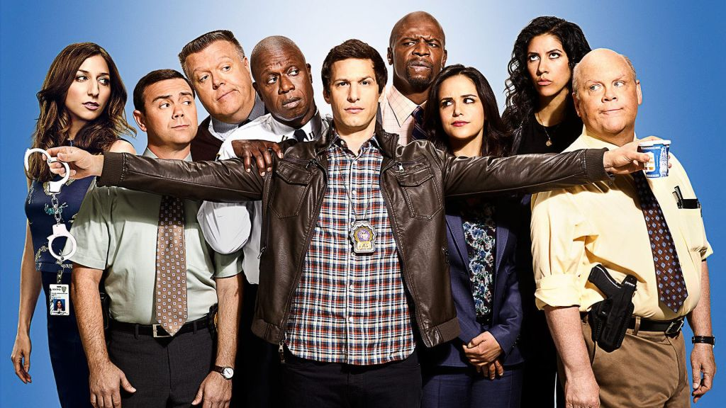 The Brooklyn Nine Nine team at work.
